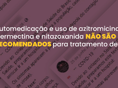 Confere | Automedicação de azitromicina não é recomendada