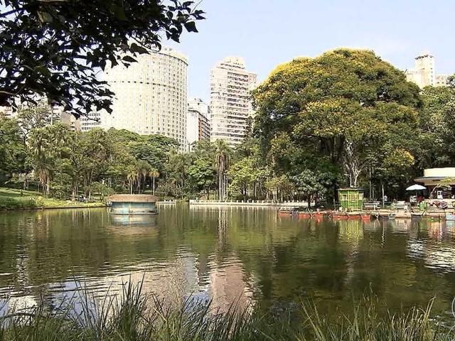 Democrático, Parque Municipal de BH é espaço para diversão e descanso