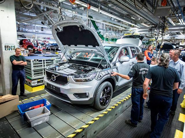 Volvo XC40 começa a ser produzido na Bélgica