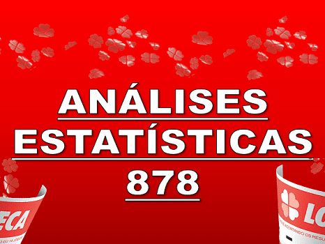 Análises para a loteca 878 desempenho das colunas