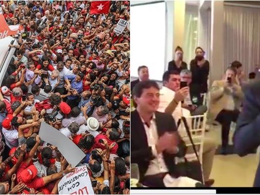 As duas imagens que resumem o 'Doria vs Lula' no Nordeste