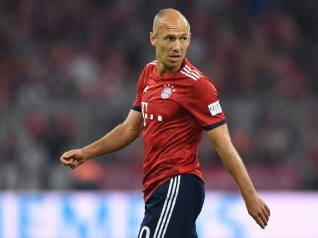 Sem jogar em 2019, Robben não esconde frustração por lesão