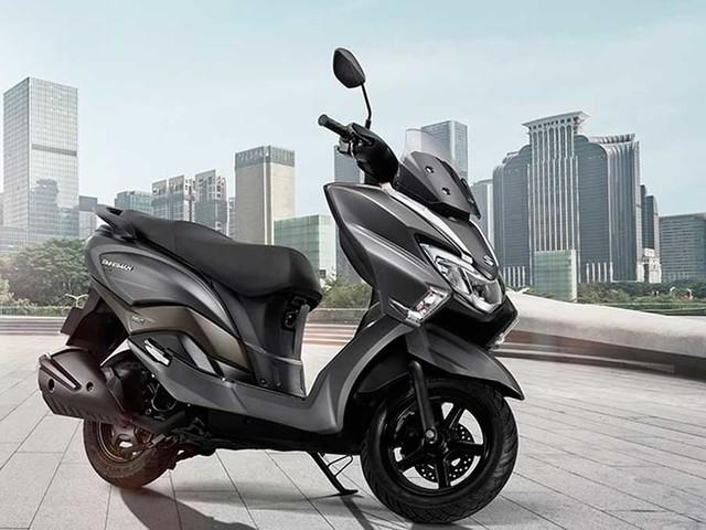 Suzuki Burgman ganha nova geração na Índia
