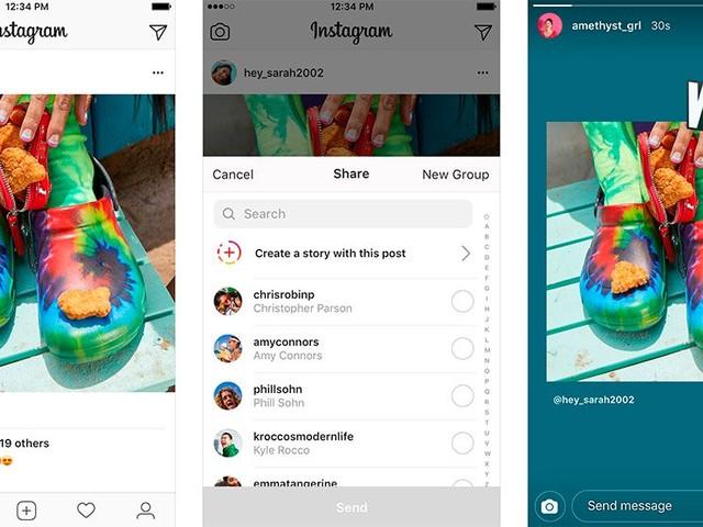 Instagram ganha recurso para você compartilhar posts de amigos no Stories