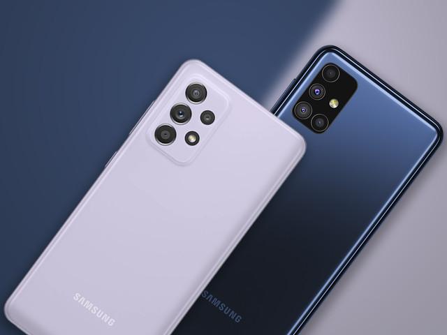 Galaxy A52 vs Galaxy M51: câmeras melhores ou bateria gigante?