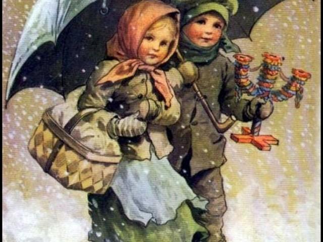 Mais guarda-chuvas com jeitinho de Natal