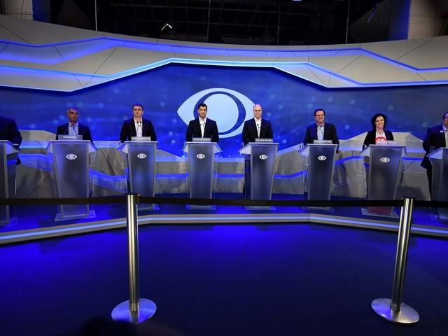Veja o que é #FATO ou #FAKE nas falas dos candidatos ao governo do RJ no debate da Band