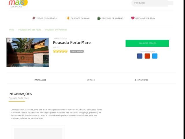 Pousada Porto Mare - Maresias - SP
