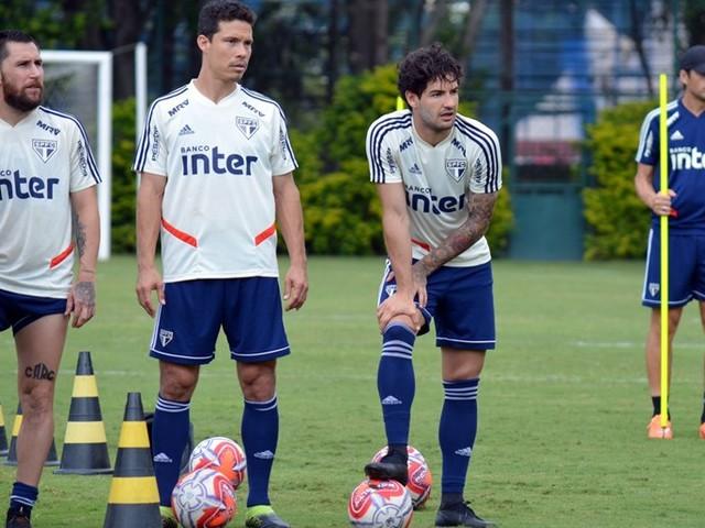 Veja fotos do treino do São Paulo desta quarta-feira