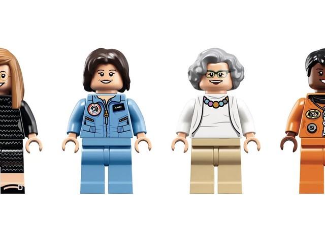 """Inspiração para meninas: LEGO lança kit """"Mulheres da NASA"""""""