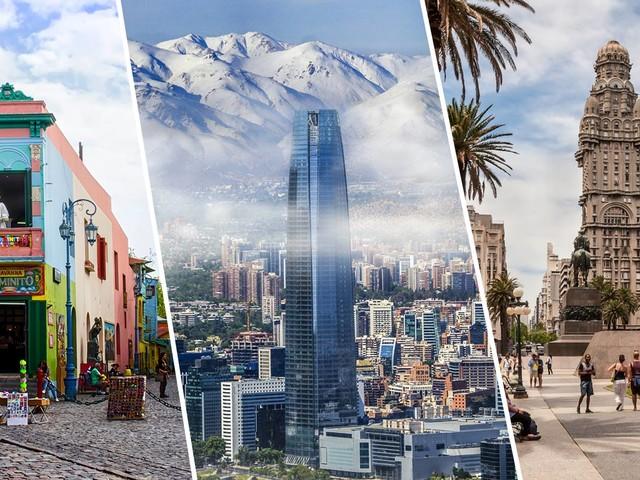 2 em 1 na América do Sul! Voos para Buenos Aires mais Santiago ou Montevidéu na mesma viagem a partir de R$ 890!