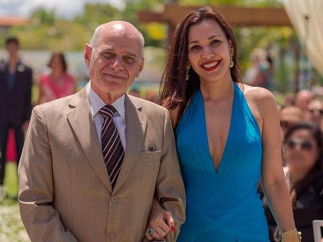 Veruska Boechat homenageia o marido Ricardo Boechat no dia em que ele completaria 67 anos