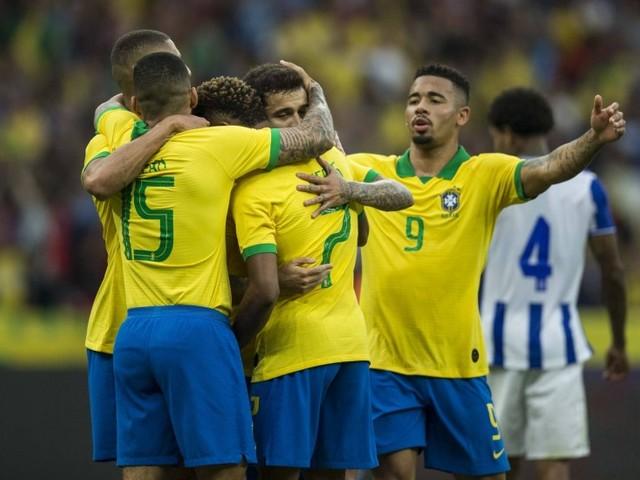 Brasil atropela e faz sete em Honduras no último amistoso antes da Copa América