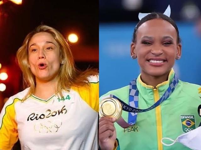 """Fernanda Gentil presta homenagem emocionante para Rebeca Andrade: """"esperança e representatividade"""""""