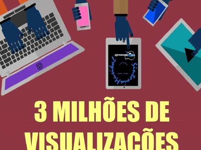 SintoniaMusikal atinge 3 milhões de visualizações