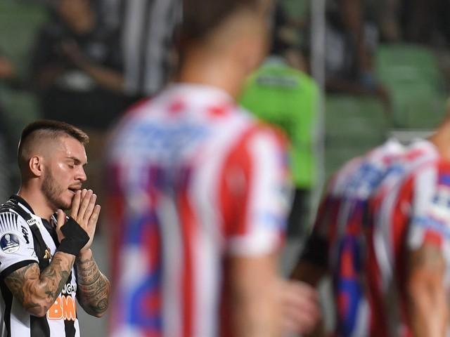 Atlético-MG vence o Unión Santa Fé, mas dá adeus à Copa Sul-Americana