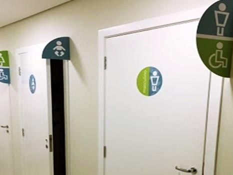 Qual banheiro uso?