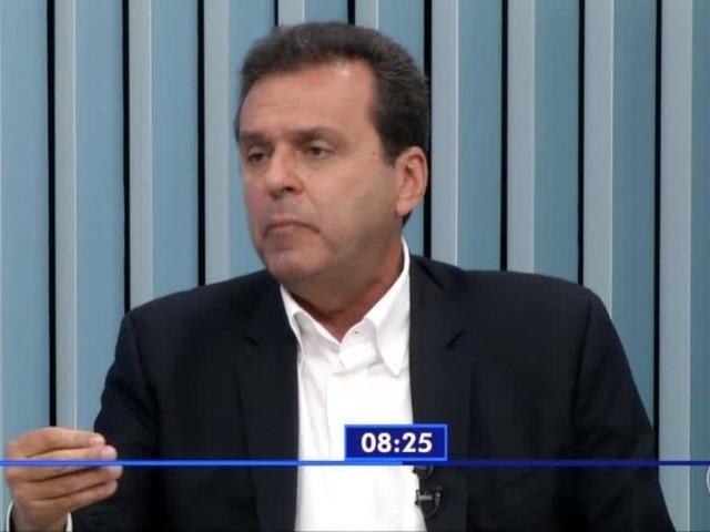 Carlos Eduardo (PDT) promete criar agência público-privada para atrair empregos em entrevista ao RNTV 2ª Edição