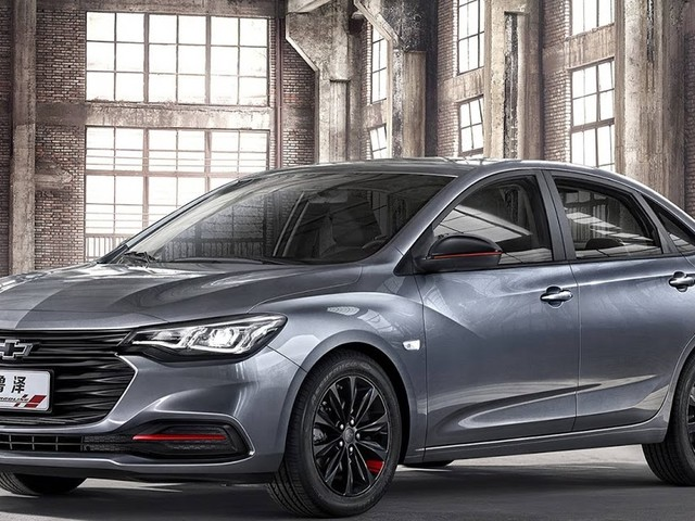 Chevrolet Monza Redline: versão enfeitada chega à China