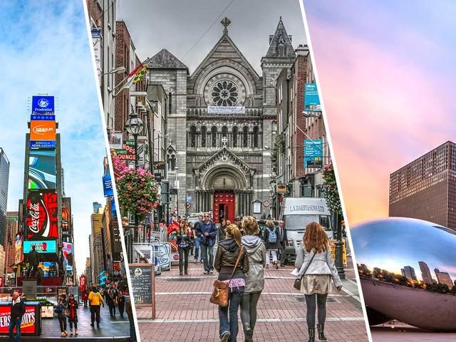 Estados Unidos mais Europa! Passagens 3 em 1 com Nova York, Chicago mais Dublin, Amsterdã ou Paris a partir de R$ 2.554!