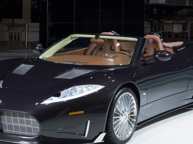 Spyker Preliator troca motor Audi por Koenigsegg V8