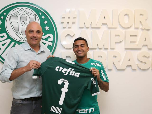 Palmeiras anuncia renovação com Dudu até o final de 2023