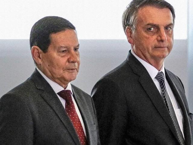 Reunião entre Mourão e Barroso levou Bolsonaro a anunciar pedido de impeachment de ministros do STF