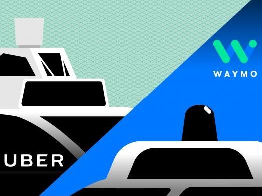 Waymo quer que Uber pague US$ 1,86 bilhão por roubo de segredos comerciais
