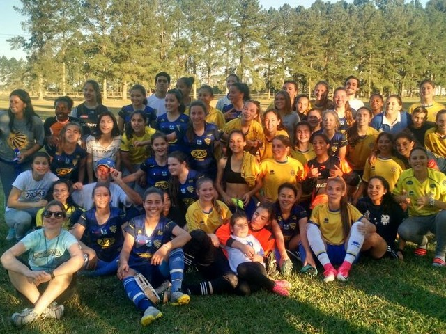 "DEFINIDAS AS EQUIPES CLASSIFICADAS NO GAUCHÃO FEMININO GRUPO ""B"""