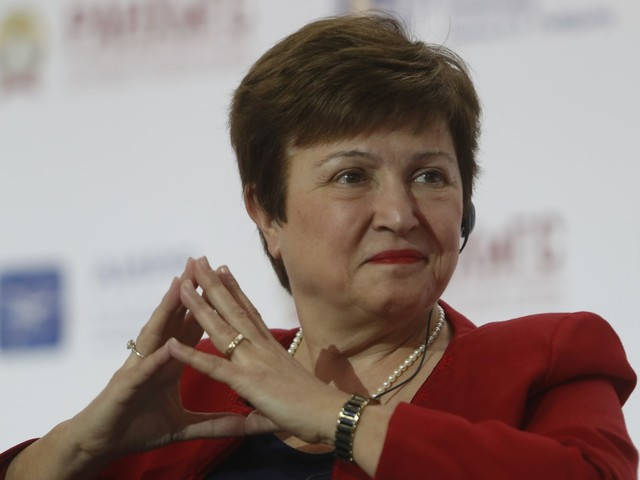UE escolhe búlgara Kristalina Georgieva como candidata a dirigir FMI