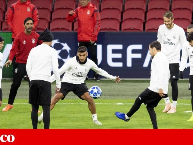 Rui Vitória quer personalidade diante de Ajax virtuoso
