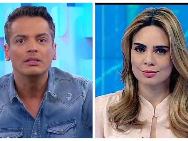 Leo Dias é atacado por Val Marchiori ao vivo e recebe defesa de Rachel Sheherazade