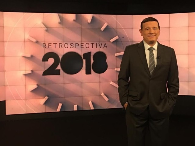 SBT escala Roberto Cabrini para comandar a Retrospectiva 2018