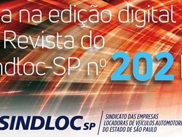 Confira agora a edição número 202 da Revista SINDLOCSP