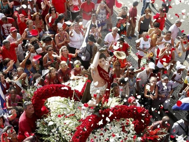 Missas, procissão e rodas de samba celebram São Sebastião nesta segunda-feira