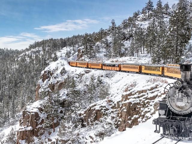 Os 10 passeios de trem mais incríveis dos Estados Unidos