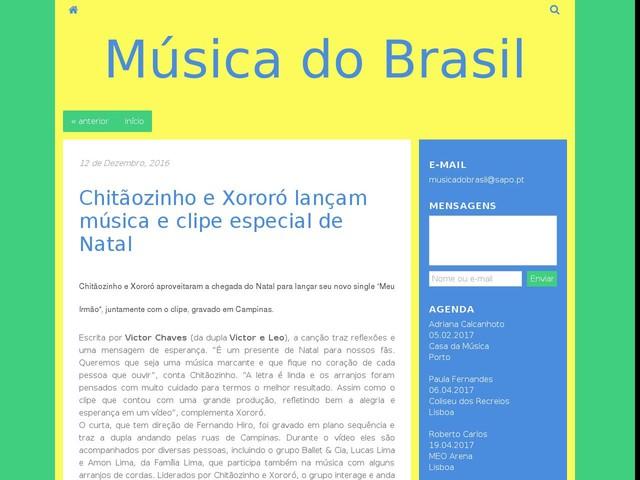 Chitãozinho e Xororó lançam música e clipe especial de Natal