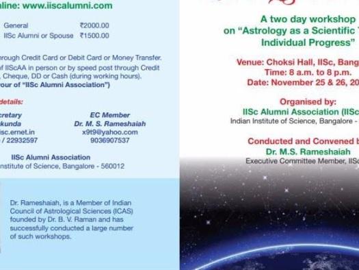 Científicos Indios contra la astrología