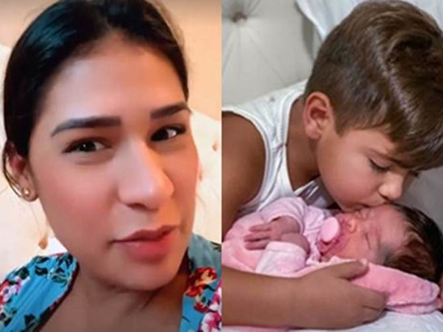 Filho de Simone Mendes encanta seguidores em momento fofo com a irmã