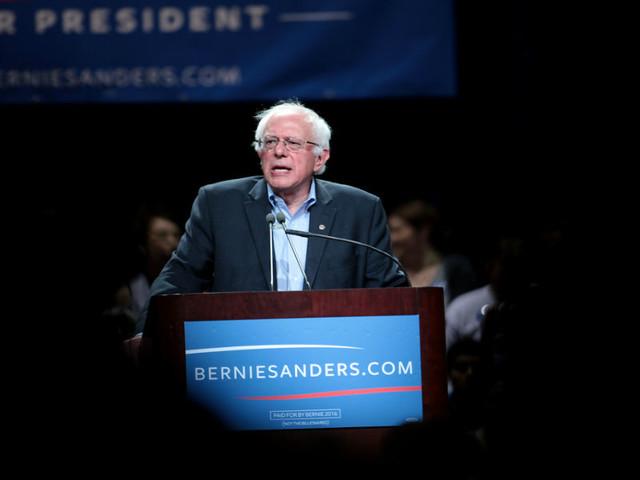 Bernie Sanders ainda não desistiu de ser presidente dos Estados Unidos