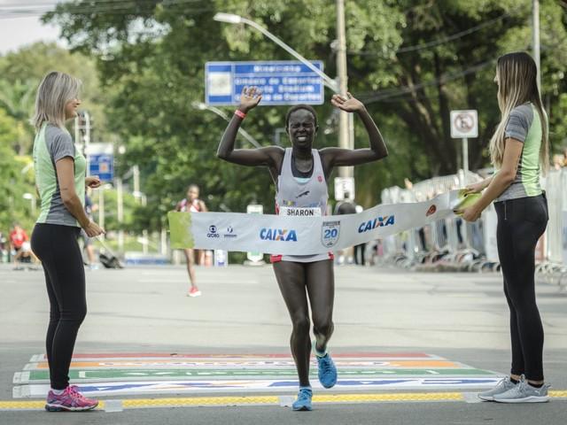 Quenianos levam a melhor na 20ª Volta da Pampulha