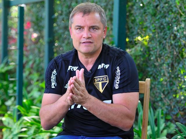 Aguirre garante São Paulo confiante e projeta reação no Rio de Janeiro