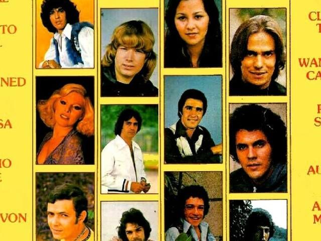 Vários artistas - Os campeões da popularidade (1978)
