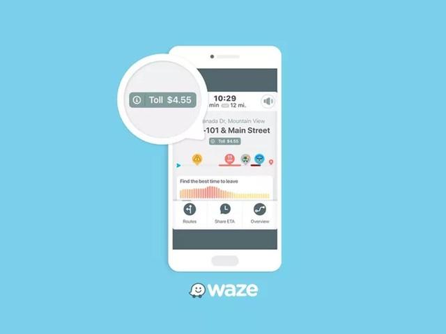 Waze passa a mostrar preços de pedágios no caminho