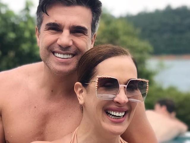 Claudia Raia revela detalhes de seu casamento e impressiona com vestido de noiva