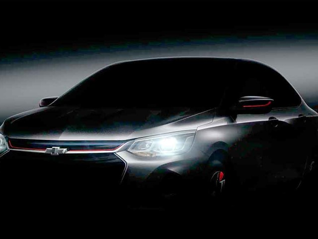 Novo Chevrolet Prisma 2020 terá entre-eixos maior que o Onix