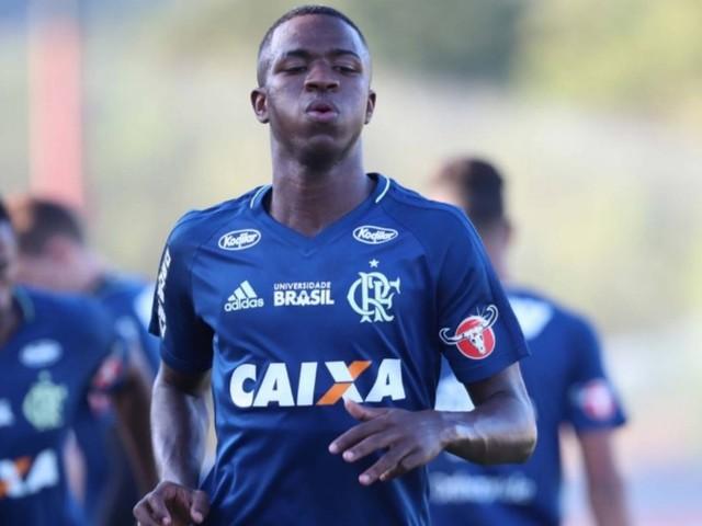 'Tudo especulação', diz agente de Vinicius Junior, do Flamengo, sobre data de ida ao Real