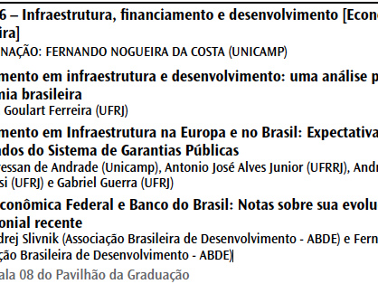 XXII Encontro Nacional de Economia Política (ENEP)