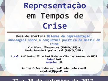 Crise política e Democracia em discussão na UFJF
