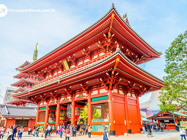 Passagem Aérea para Tóquio a partir de R$ 3.426